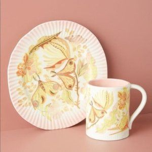 Anthropologie En Plein Air Dessert Plate